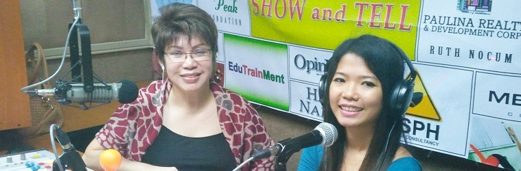 Show and Tell Interview with Ms. Vivien Mangalindan