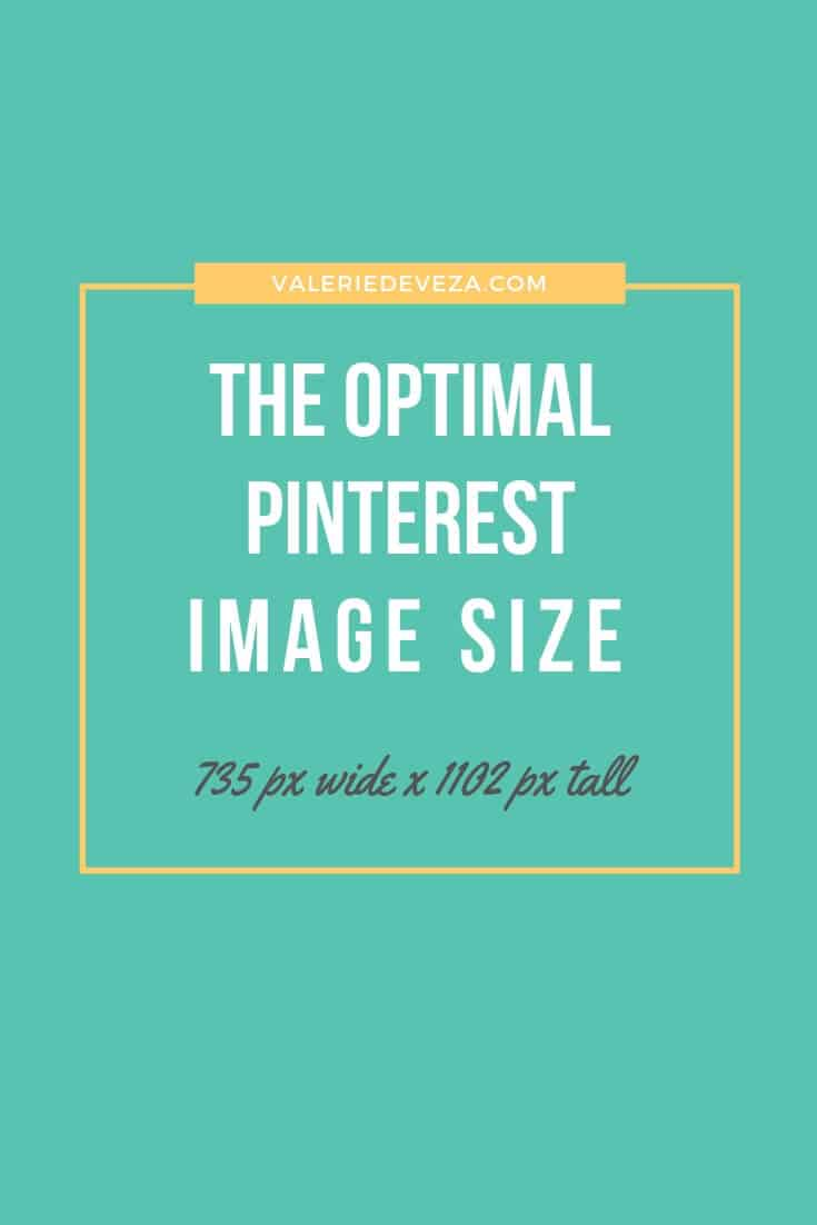 Optimal Pinterest Image SIZE
