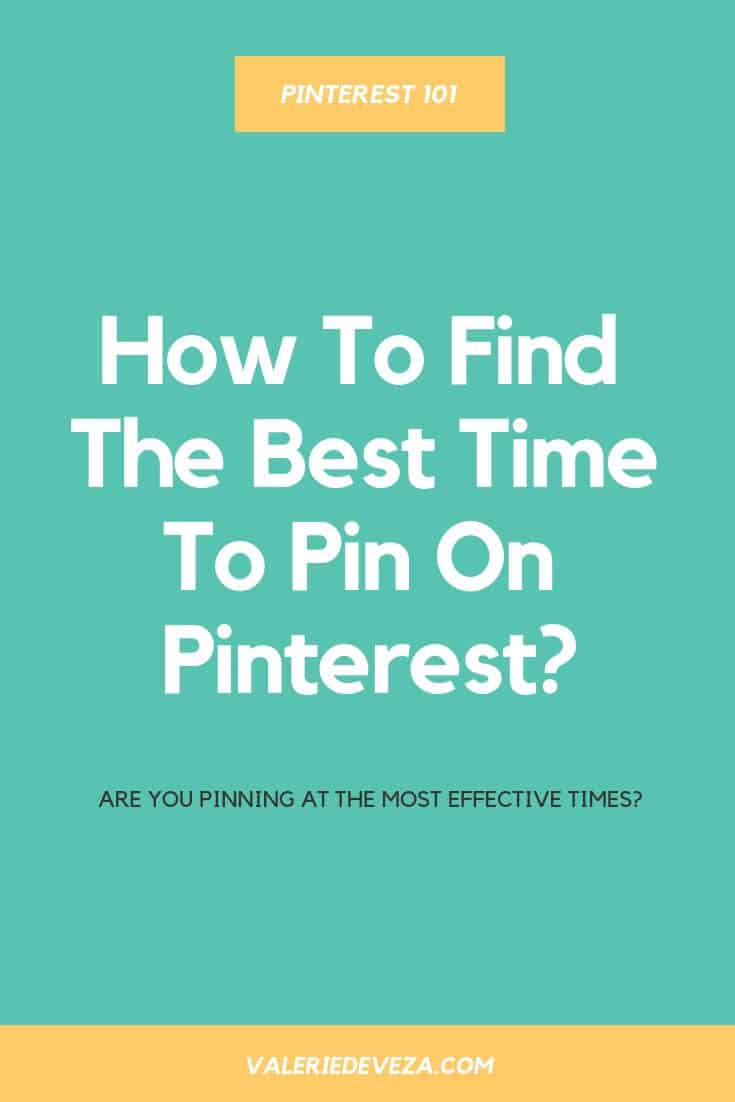 best time to pin on pinterest - best time to post on pinterest