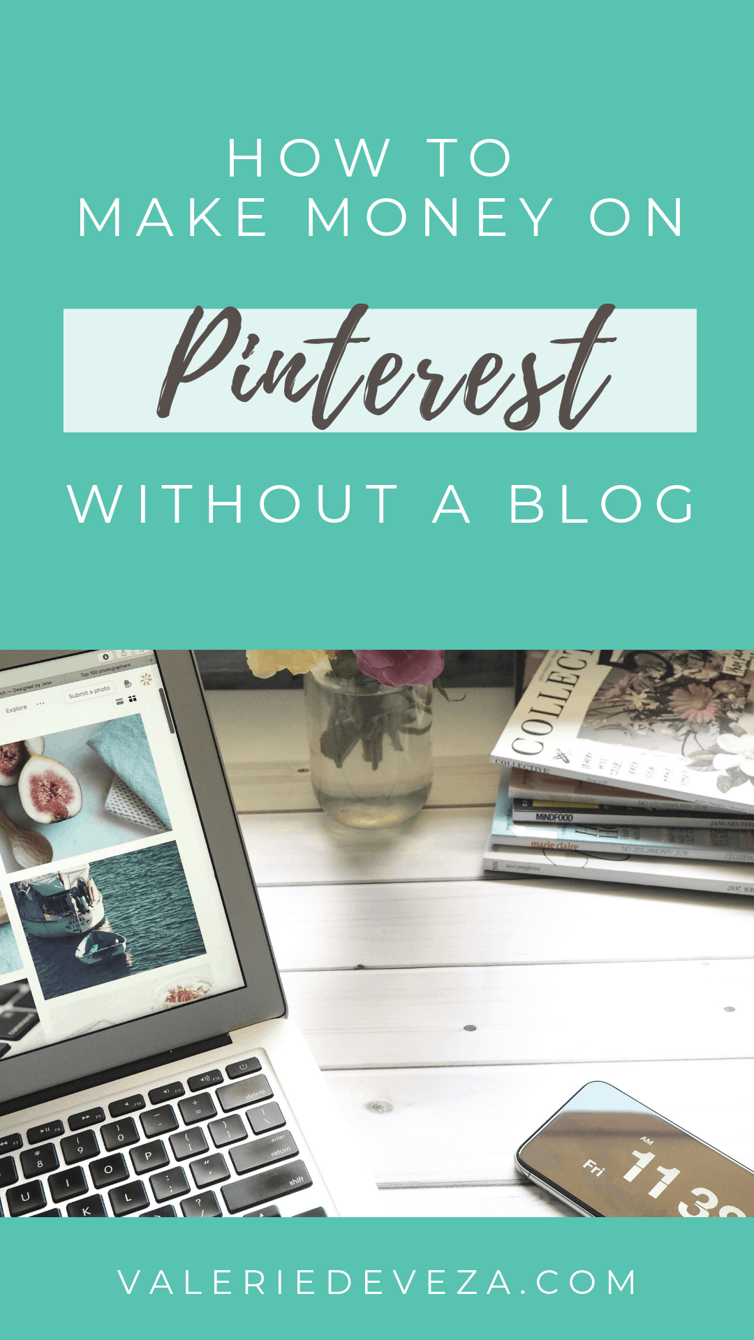 How to make money on Pinterest without a blog - pinterest affiliate marketing