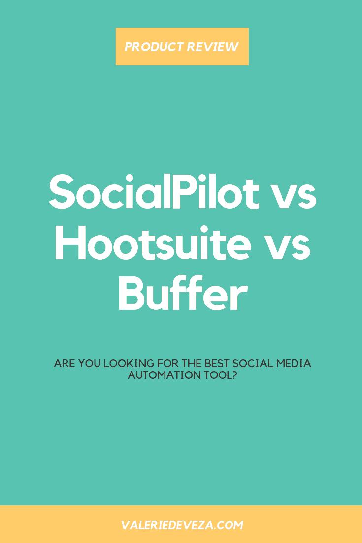 Social Pilot vs Hootsuite vs Buffer Comparison Review