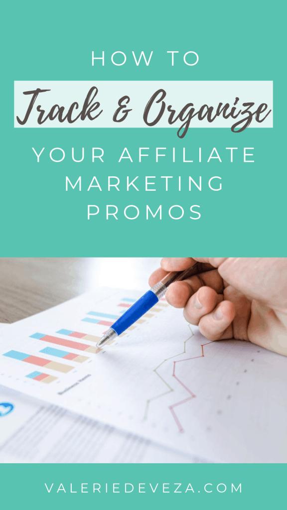Affiliate Marketing Spreadsheet - Tracker