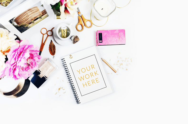 Free-Styled-Stock-Photography-Blush-Pink-and-Gold-desk-peonies-goldandberry-blog-gold-and-berry-freebies