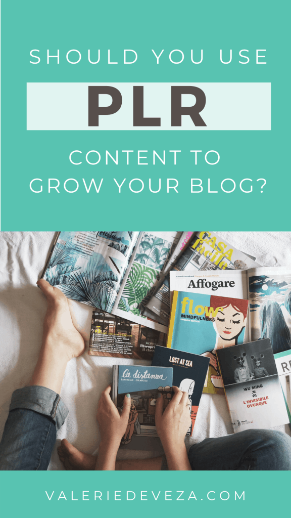 what is plr content? should you use it on your blog + free plr samples