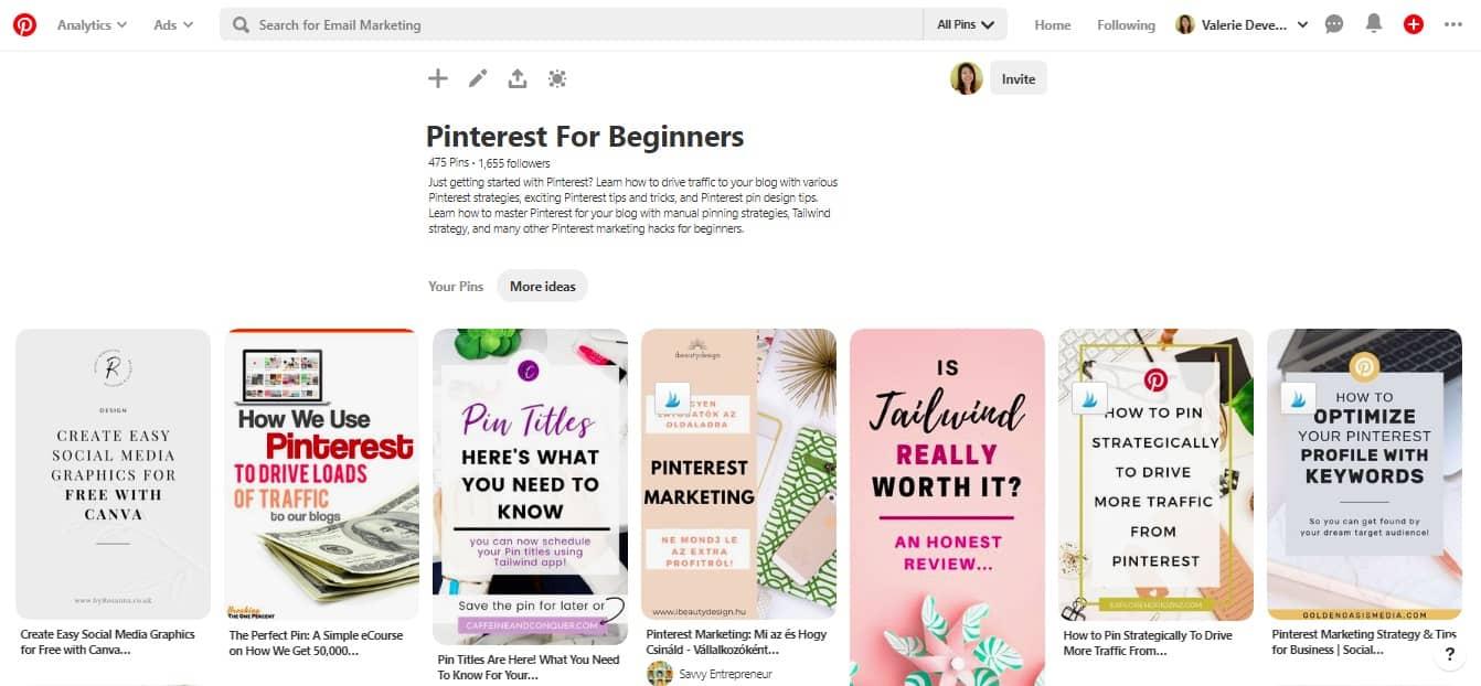 idées d'articles de blog sur Pinterest