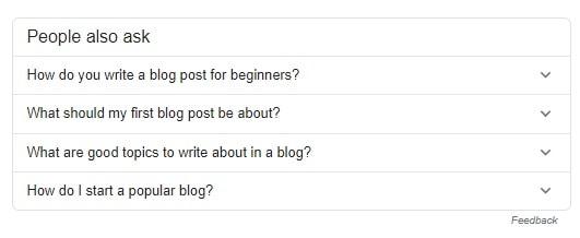 des idées sur quoi bloguer - les gens demandent